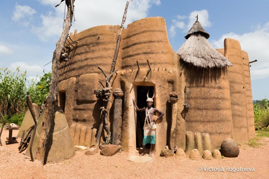 Племена Сомба ( Бенин)