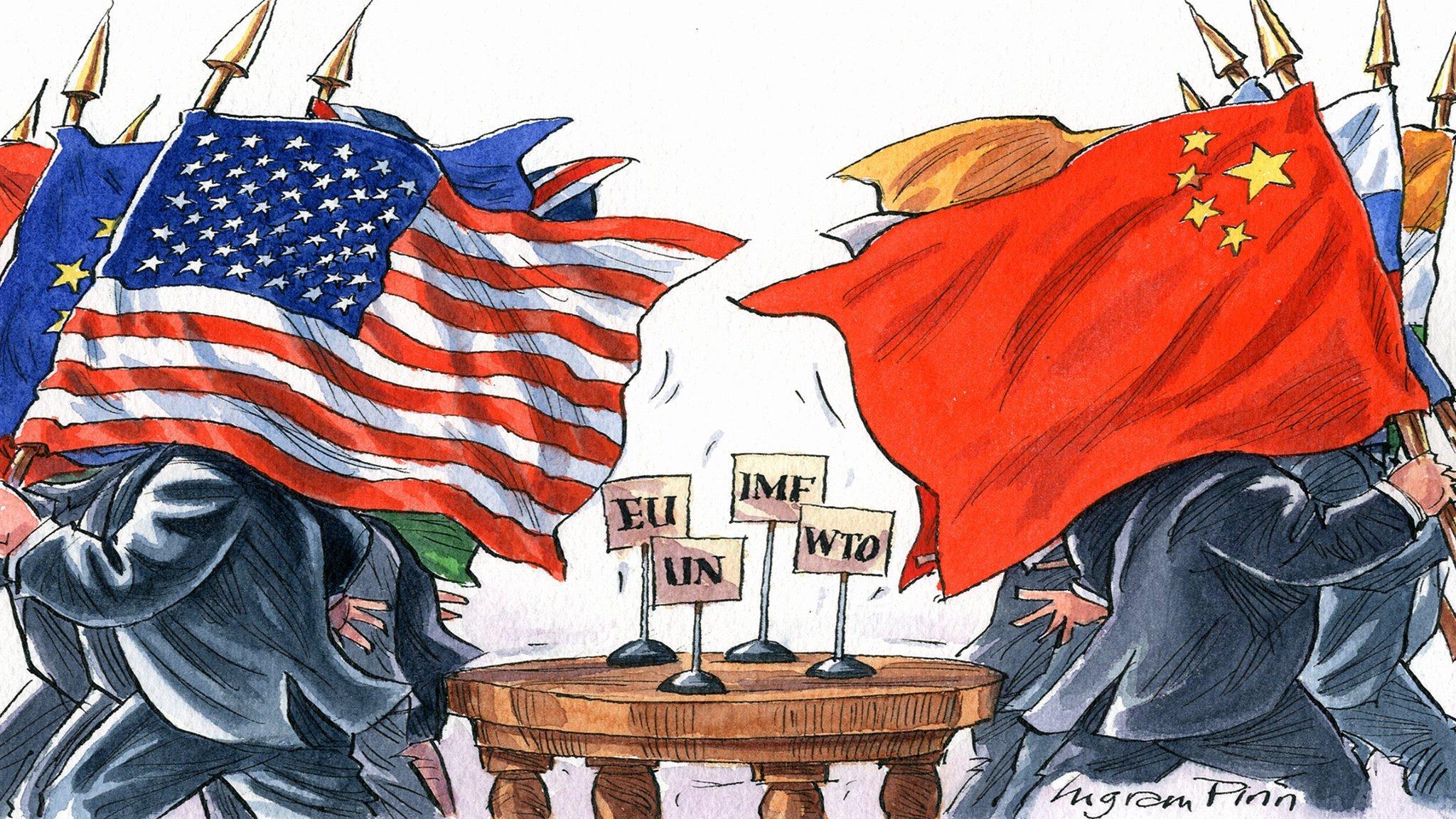 Осада Соединенными Штатами и их союзниками России - это урок для Китая