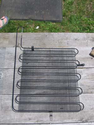 Самодельный солнечный коллектор из старого холодильника для дома и дачи,экология,энергетика