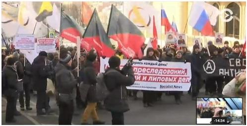 Марш Немцова 2018: пиар на н…