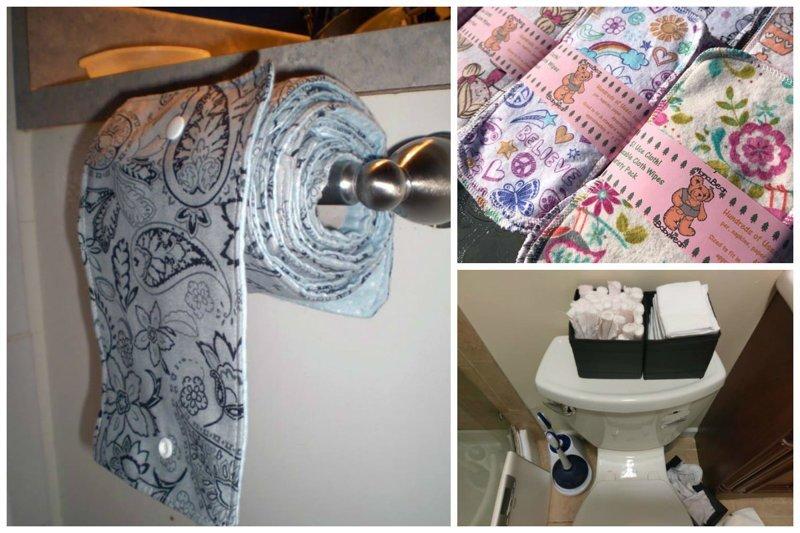 Многоразовая туалетная бумага завоевывает все больше поклонников на Западе. А вы готовы ТАК экономить?