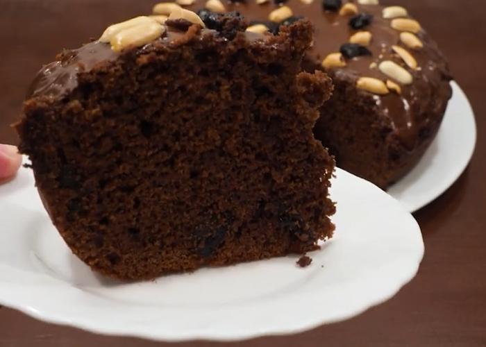 Готовим в мультиварке: самый вкусный шоколадный кекс