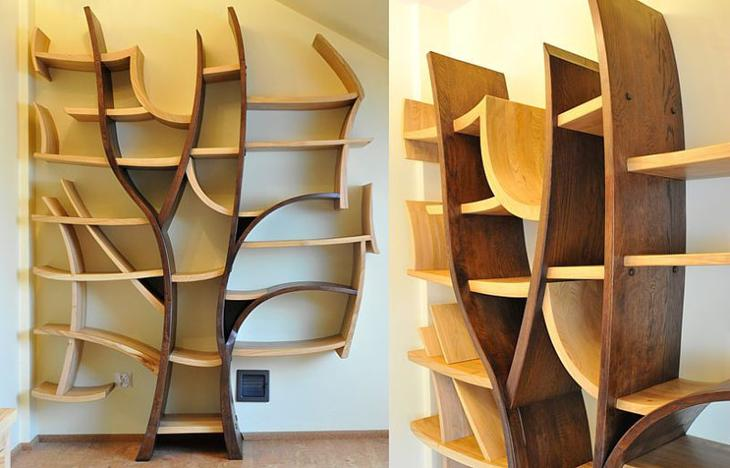 Несколько идей красивой и необычной мебели из дерева своими руками мебель,своими руками