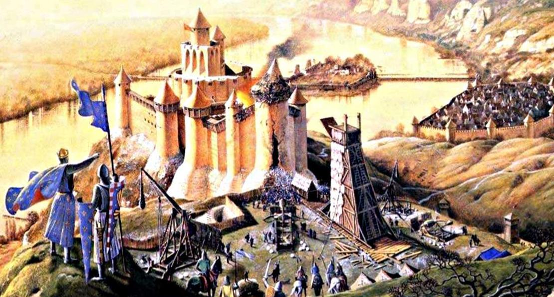 Горящие свиньи, требушеты и хитрые уловки. Какой была осада замка в войнах рыцарей Европы? история