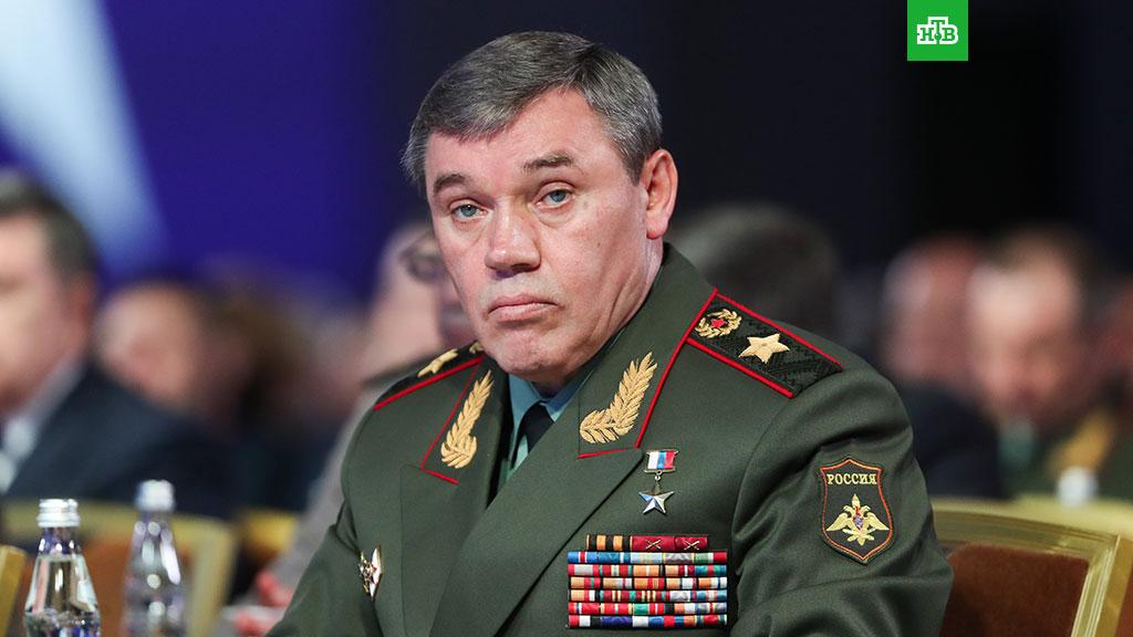 Глава Генштаба Валерий Герасимов пригрозил ответить на возможный удар США по Дамаску
