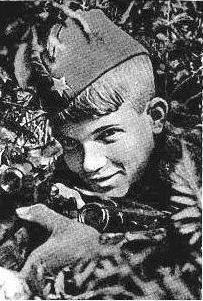 Герой Великой Отечественной войны: парнишка-снайпер Василий Курка