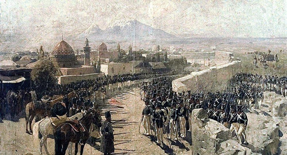 Русские вернули Ереван армянам