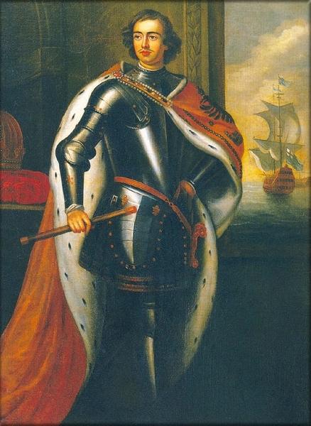 Г.Кнеллер. Портрет Петра I