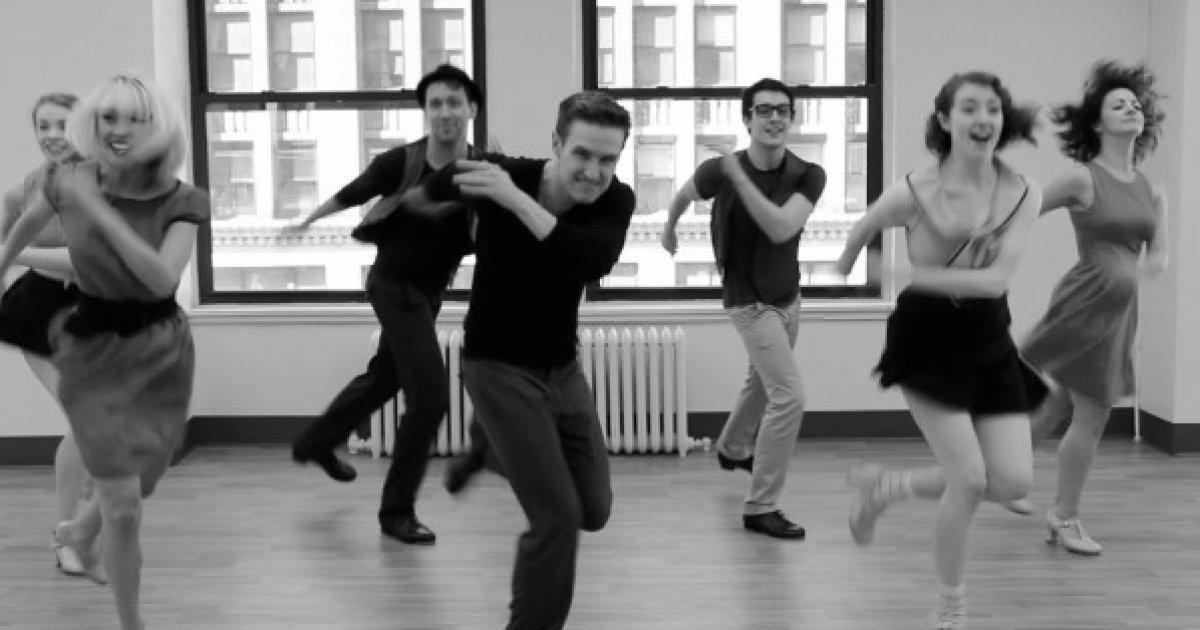 История одного танца. Чечётка