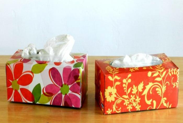 Коробка для пакетиков.