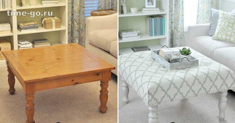Вторая жизнь старой мебели: …