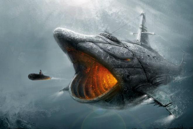Акула: атомная субмарина размером с авианосец