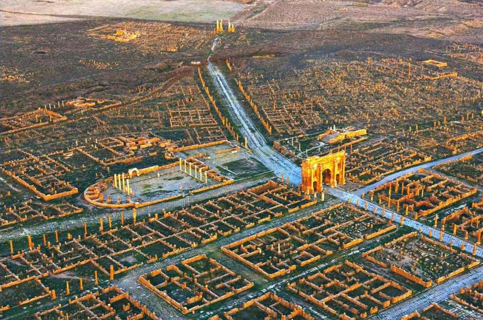 Сахара, руины города Тимгард