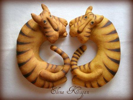 Выкройка мягкой игрушки Тигруши