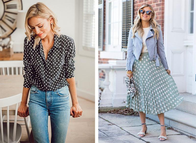 c68c5c2c1aa Мода в горошек  как носить вещи в горох — тренд 2019