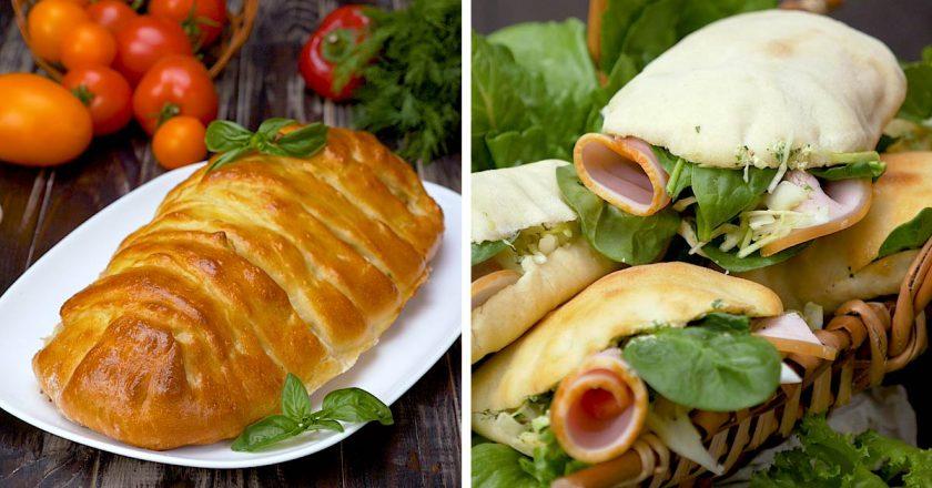 Ароматные и вкусные средиземноморские пироги: готовим дома