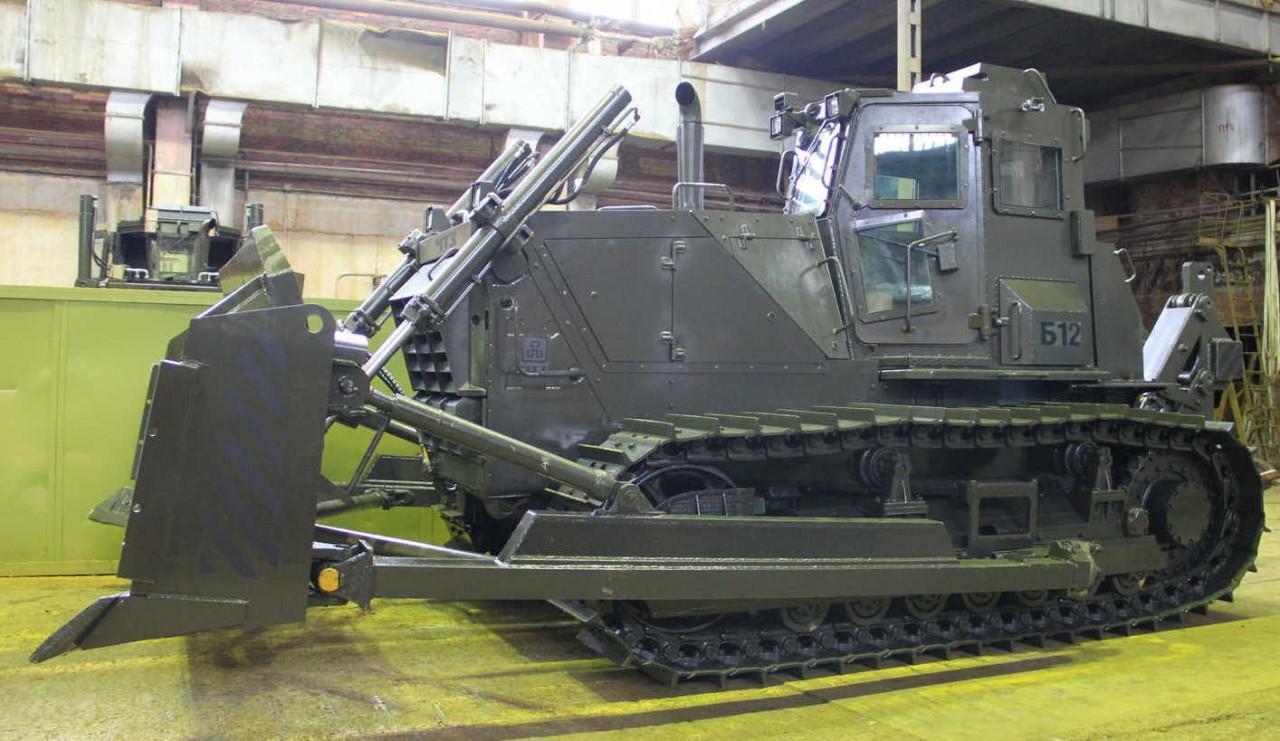 Челябинские трактора настолько суровы, что их переквалифицировали в сапёров