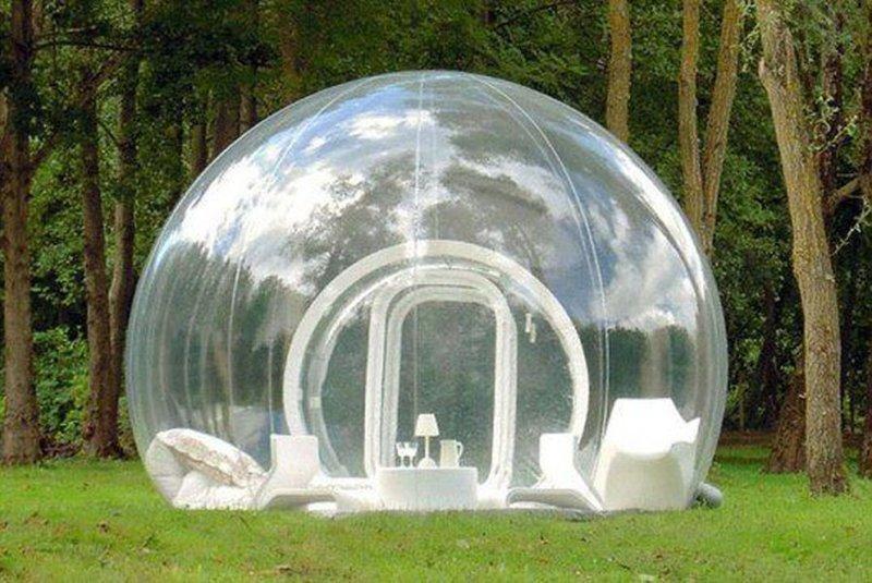 4. Палатка-пузырь идеи, комфорт, отдых, палатка, природа, путешествие