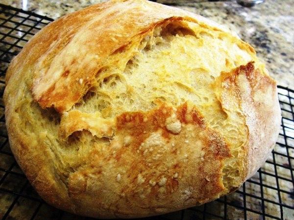Вкусный домашний хлеб в духовке, который получается у всех, без исключения