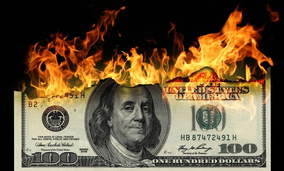 Россия и Китай задали мировой тренд на дедолларизацию доллар,Китай,Россия,США