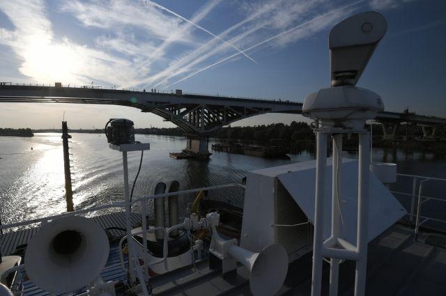 В Дубне проходят испытания нового моста через Волгу