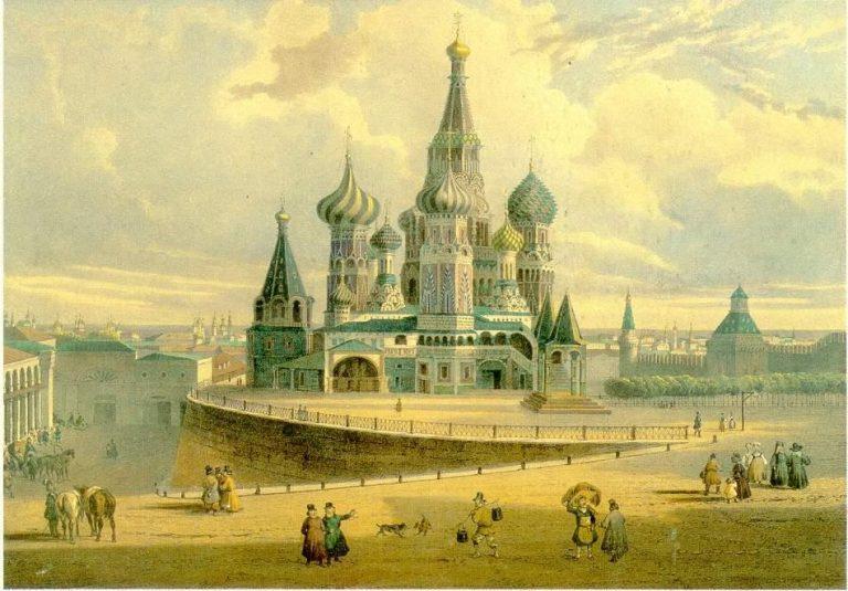 Главные тайны собора Василия…