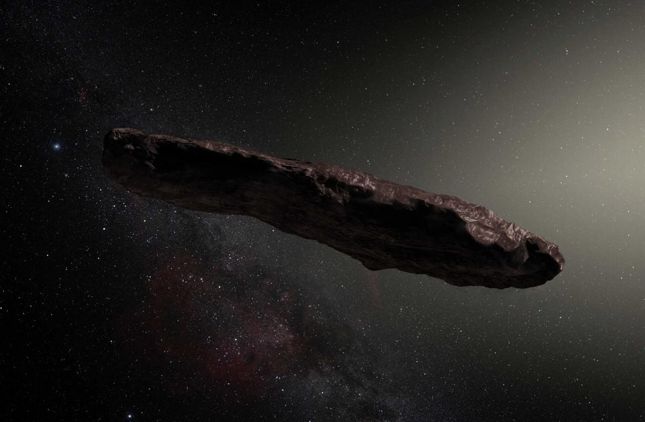 Астрономы изучили происхождение межзвездного астероида Оумуамуа