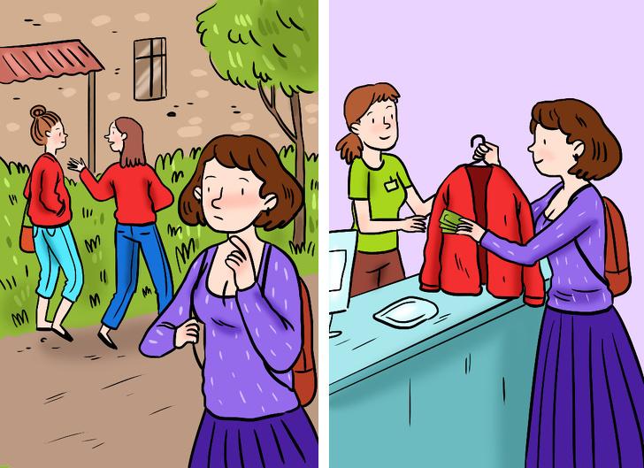 10 ситуаций, в которых мы теряем здравый смысл и покупаем никому не нужное барахло девушки
