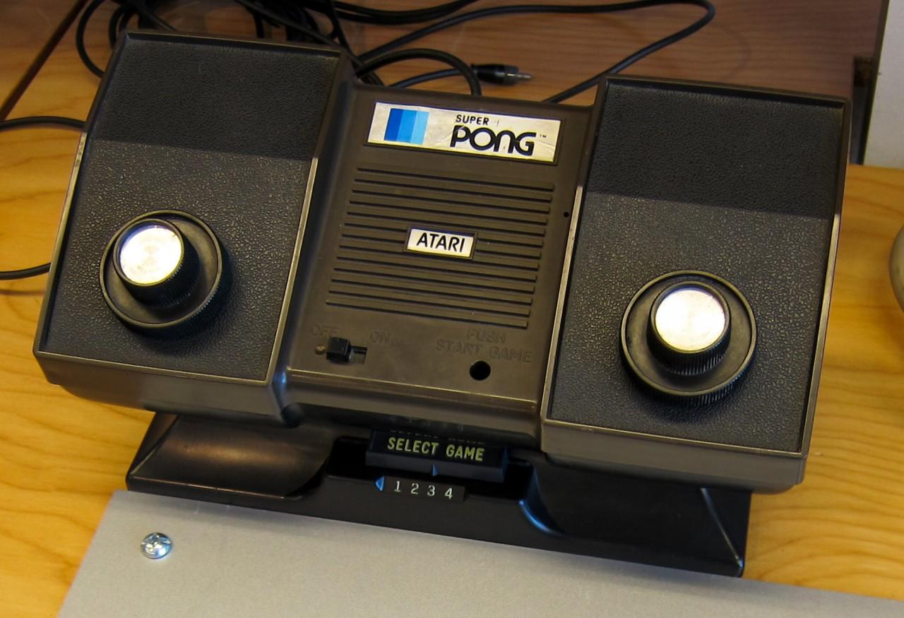 2. Pong Atari Игровые приставки, игры, компьютеры, технологии