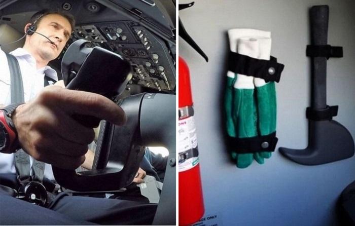 В какой летной ситуации пилотам может понадобиться топор?