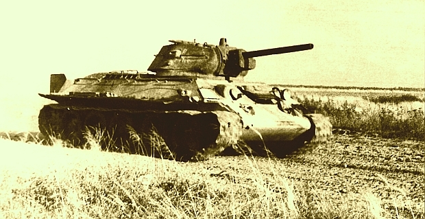 «Красная Звезда» . 1942 год. Танкист Хаким Депуев
