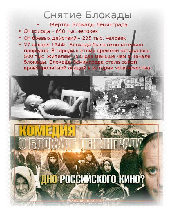 Хлеб блокадного Ленинграда...