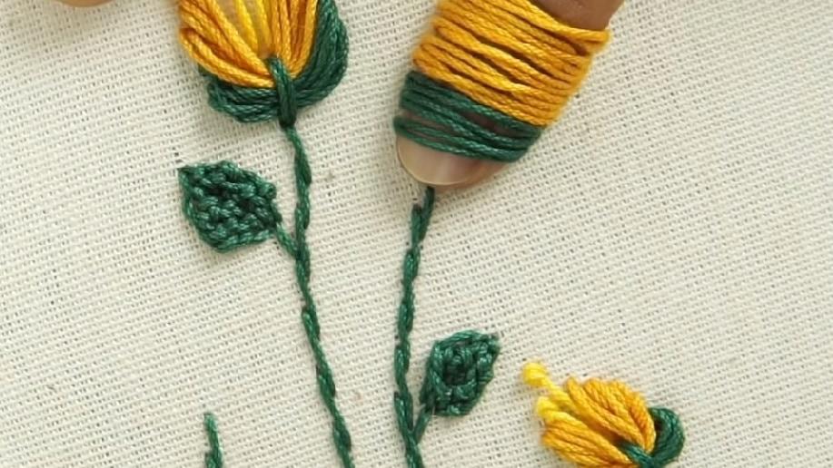 Удивительная ручная вышивка: секретная техника вышивки гладью