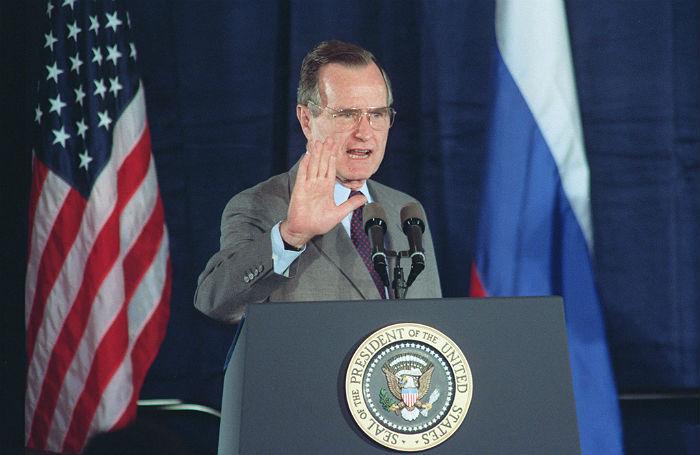 Умер бывший президент США Джордж Буш — старший