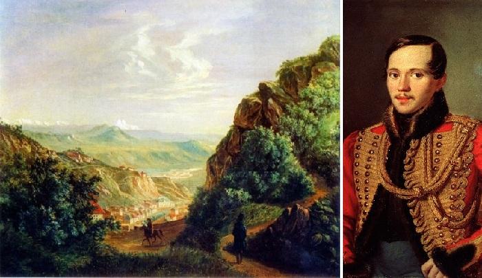 Неизвестные таланты великих: Живописные пейзажи на акварелях поэта Михаила Лермонтова