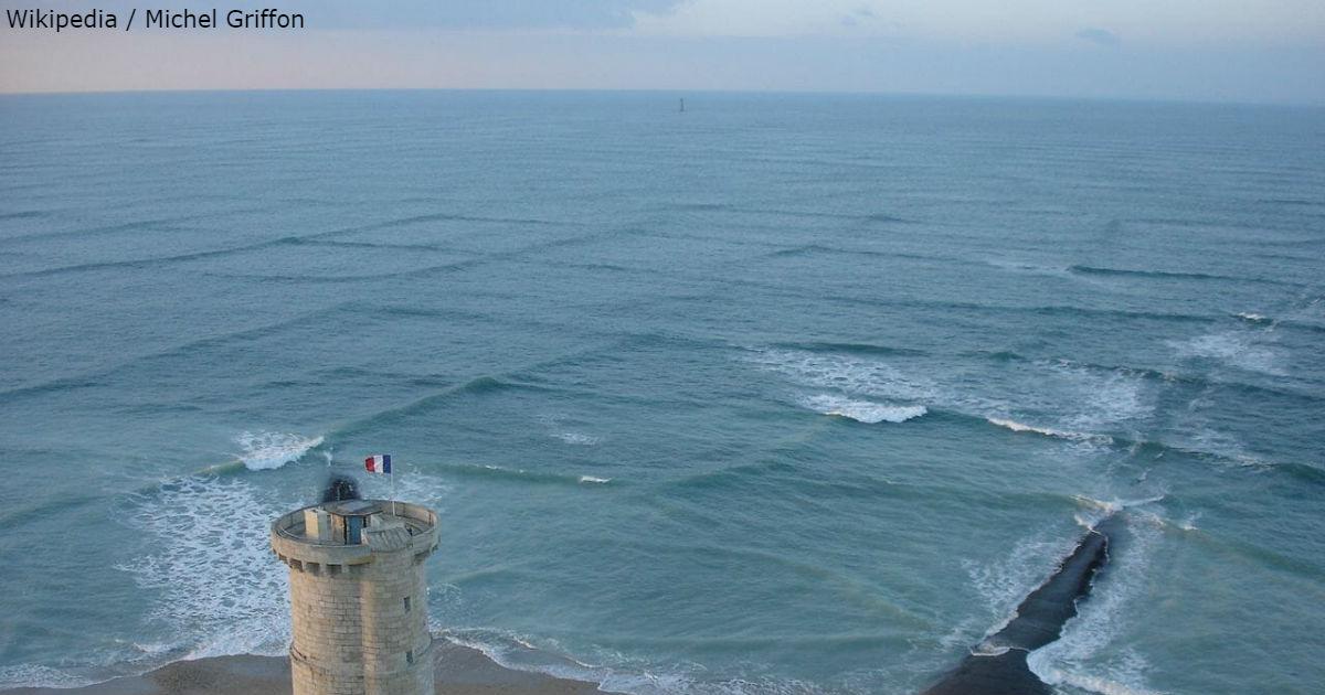 Если вы видите такие квадратные волны, держитесь от них подальше!