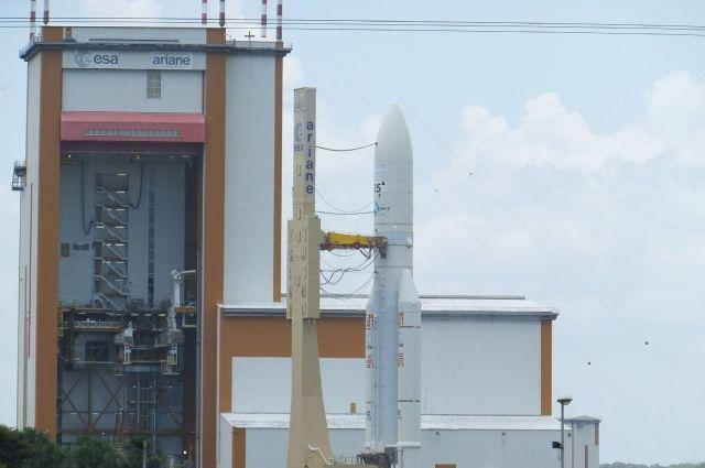 Ракета «Союз» со спутниками связи успешно стартовала с космодрома Куру