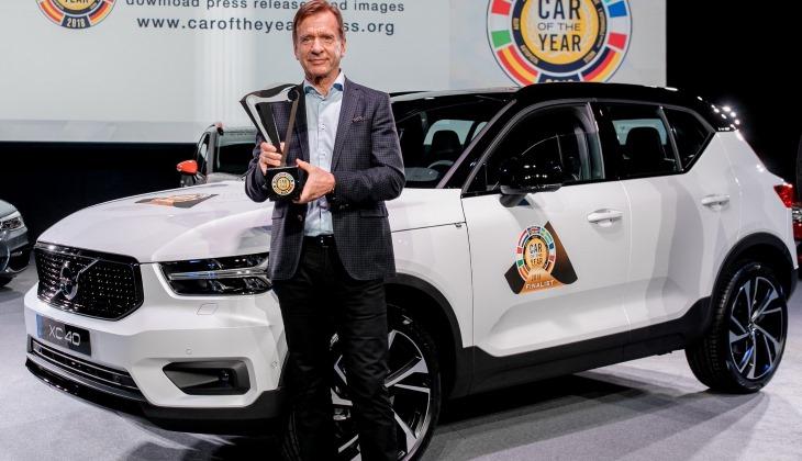 В конкурсе «Автомобиль года» впервые победил Volvo