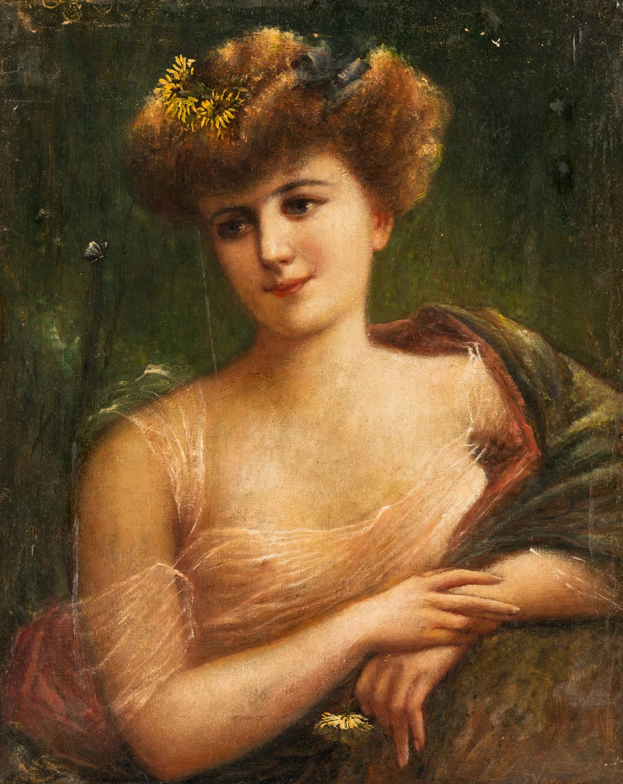 Эмиль Вернон — французский художник прекрасной эпохи  (British, 1872-1919)