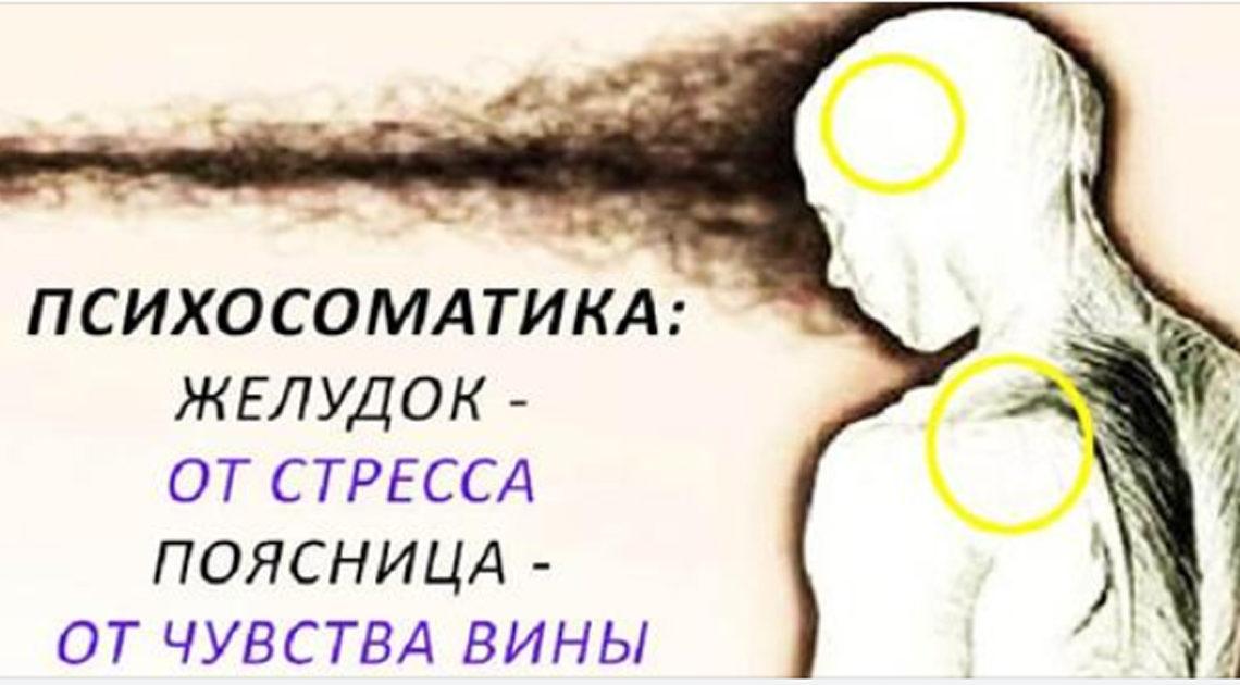 Боль в теле отражает проблемы в вашей жизни.