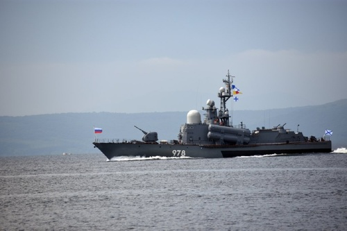 Военные корабли ТОФ вернулись в пункты дислокации после маневров «Восток-2018»