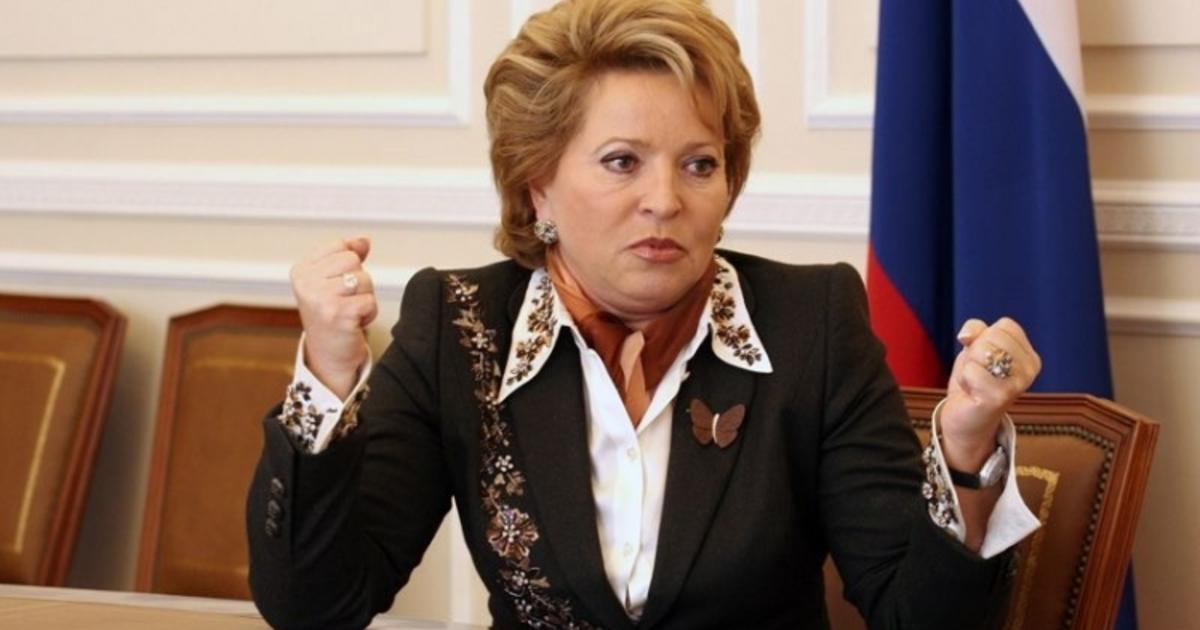 """Матвиенко хочет, что бы во власти были только """"желательные"""" люди. Желательные правящей верхушке."""