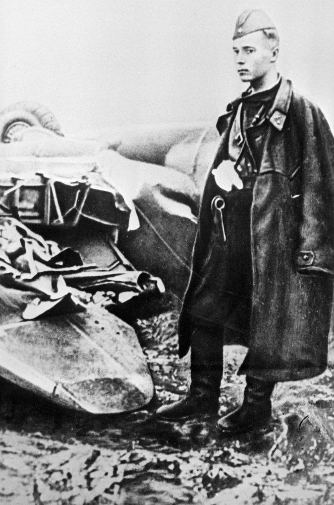 100 лет назад родился Герой Советского Союза Виктор Талалихин