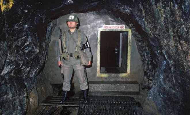 Подземные тоннели Северной Кореи