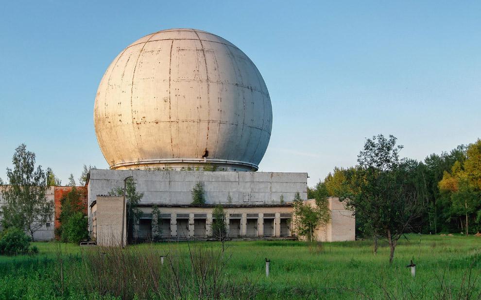 Купол радиолокационной антенны в Наро-Фоминске