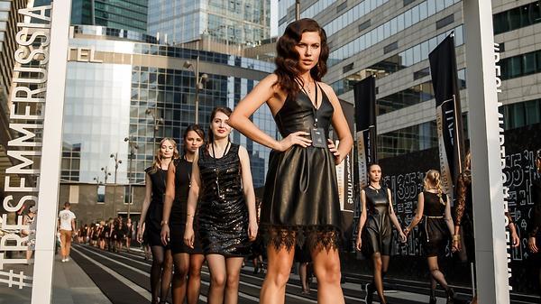 Мировой рекорд: в Москве мод…