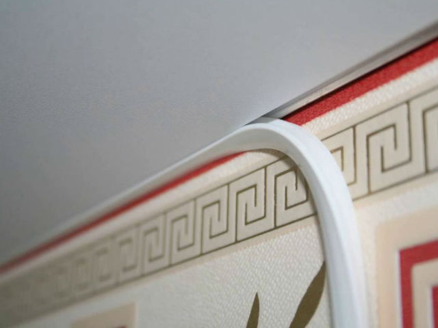 Картинки по запросу плинтус для натяжного потолка