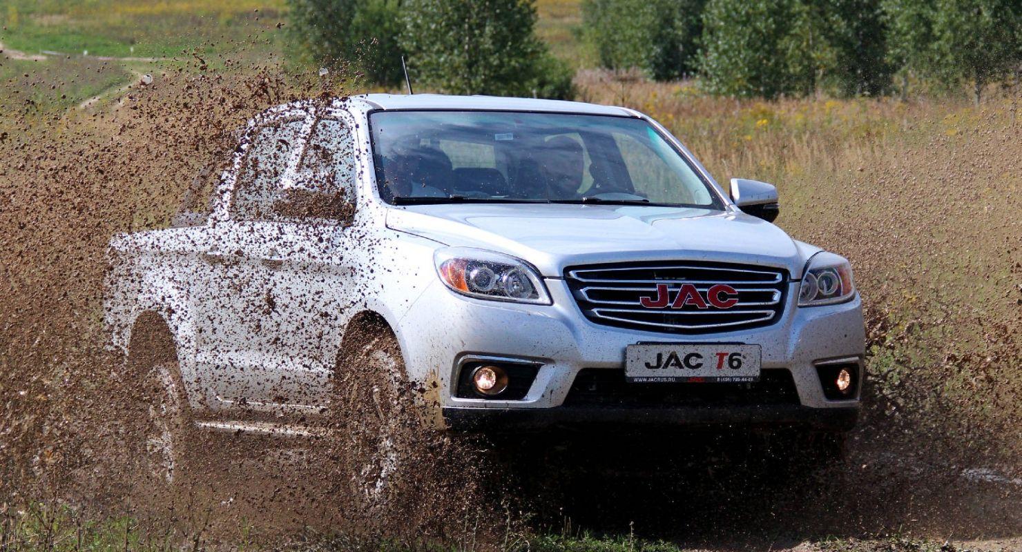 Счастье в простоте. Новогодний тест-драйв пикапа JAC T6 Автомобили