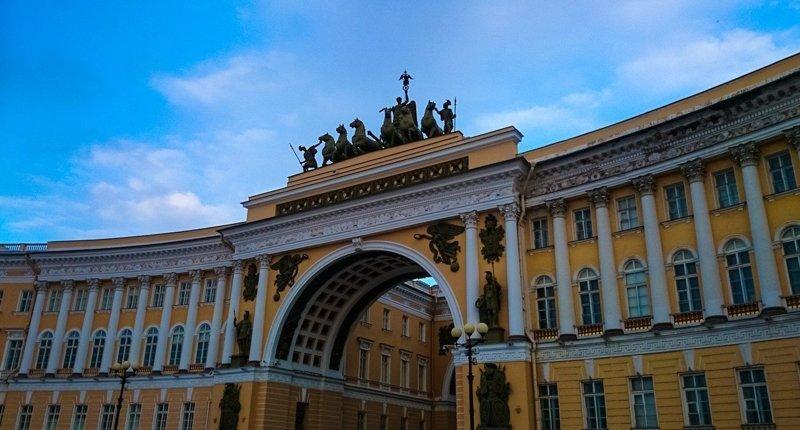 17-Арка Главного Штаба Красивые здания, СПб, питер