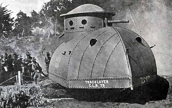 Первый американский танк Tracklayer Best 75
